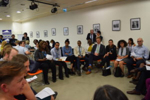 GHC's WHA72 town hall on Universal Health Coverage.