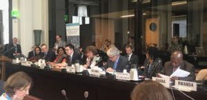 GHC President & Executive Director Loyce Pace represents civil society on a WHO technical briefing on UHC.